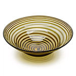 centro de mesa g espiral ambar