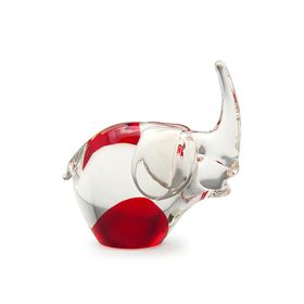 figura-animal-elefante-vermelha