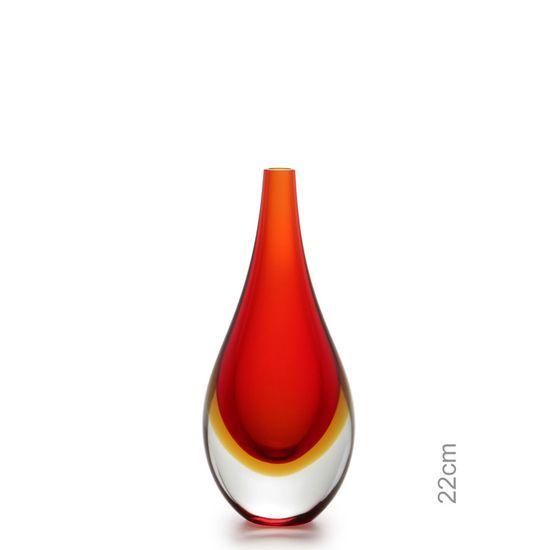 gota-mini-media-bicolor-vermelha-com-ambar