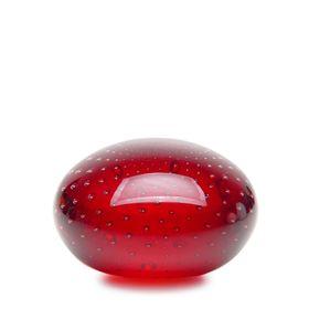 peso-tela-achatado-vermelho