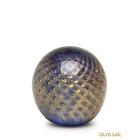 peso-tela-bola-agua-marinha-com-ouro