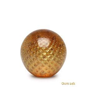 peso-tela-bola-ambar-com-ouro