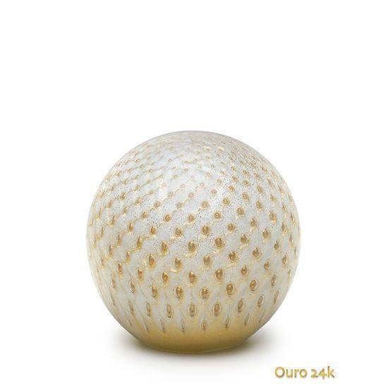 peso-tela-bola-branco-com-ouro