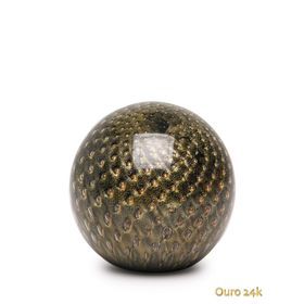 peso-tela-bola-preto-com-ouro