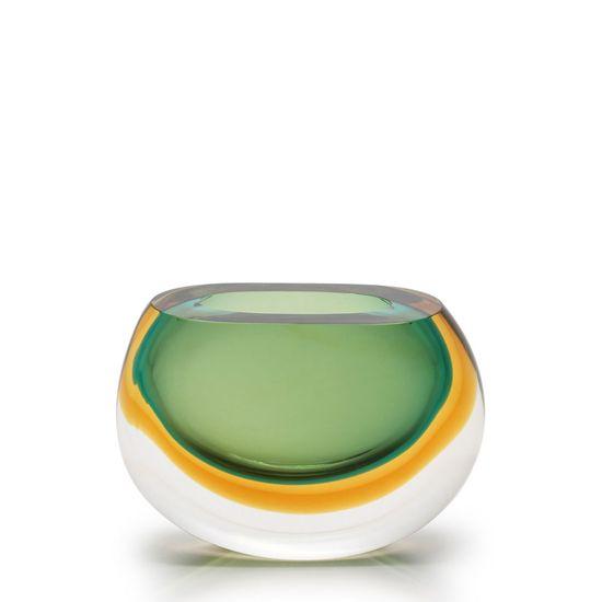Vasinho 92 Bicolor Verde com Ambar