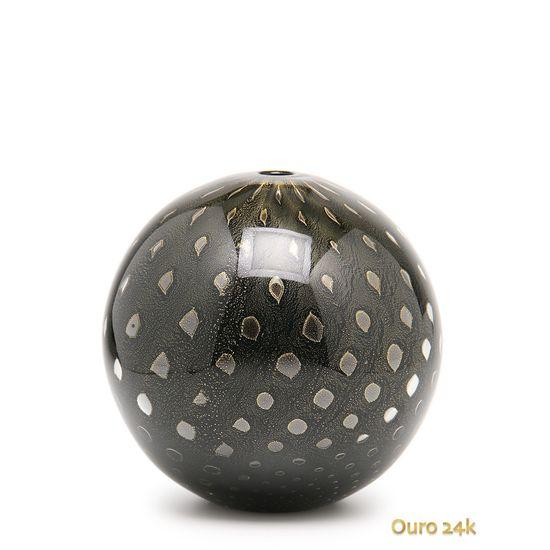 vaso-bola-tela-preto-com-ouro