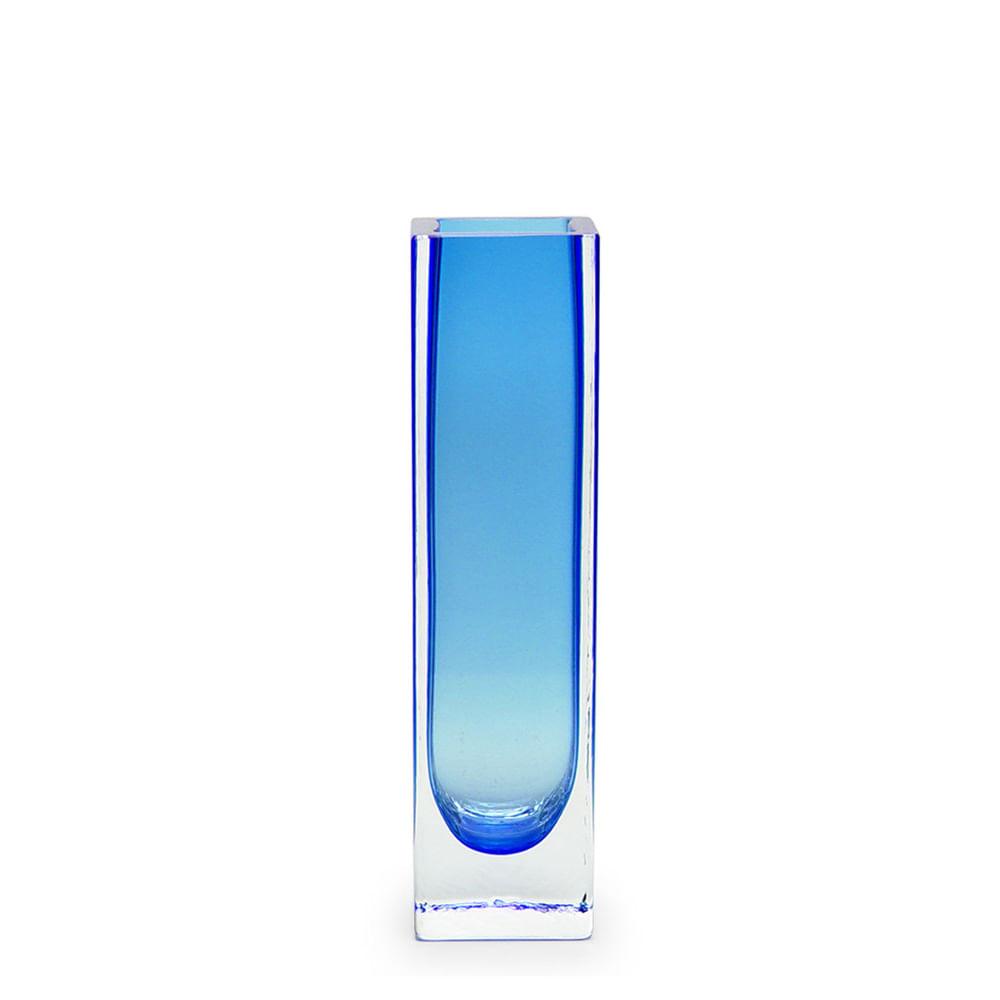 Vaso Executivo Azul Murano Cristais Cadoro