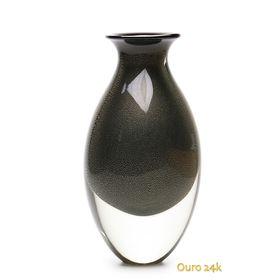 vaso-gota-2-preto-com-ouro