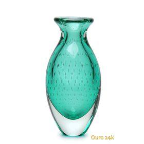 vaso-gota-2-tela-verde-com-ouro