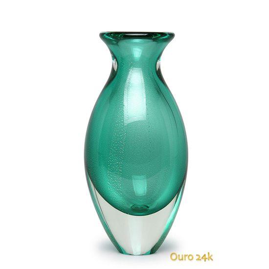 vaso-gota-2-verde-com-ouro