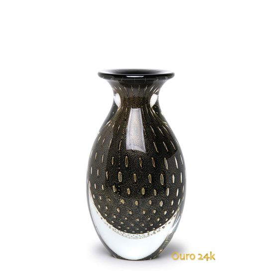 vaso-gota-3-tela-preto-com-ouro