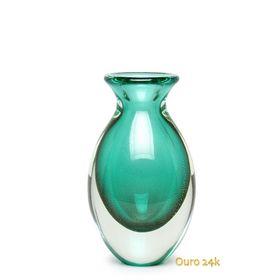 vaso-gota-3-verde-com-ouro