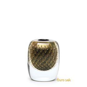 vaso-quadrado-3-tela-preto-com-ouro