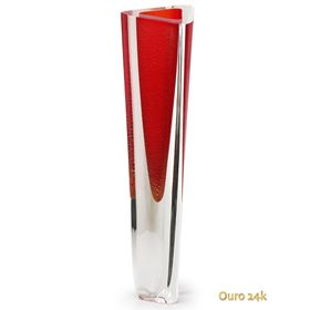 vaso-triangular-n-1-vermelho-com-ouro