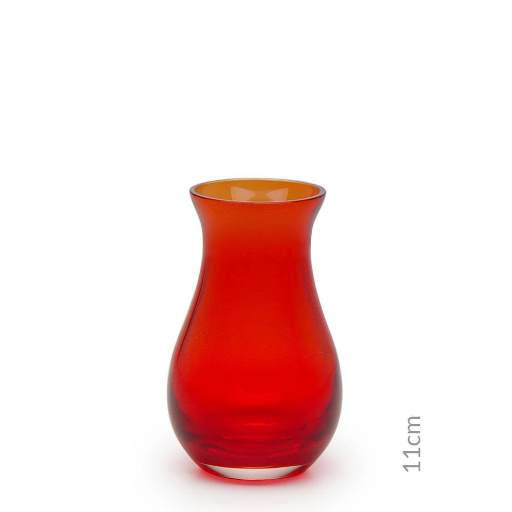 Vasinho M64 Vermelho Murano Cristais Cadoro