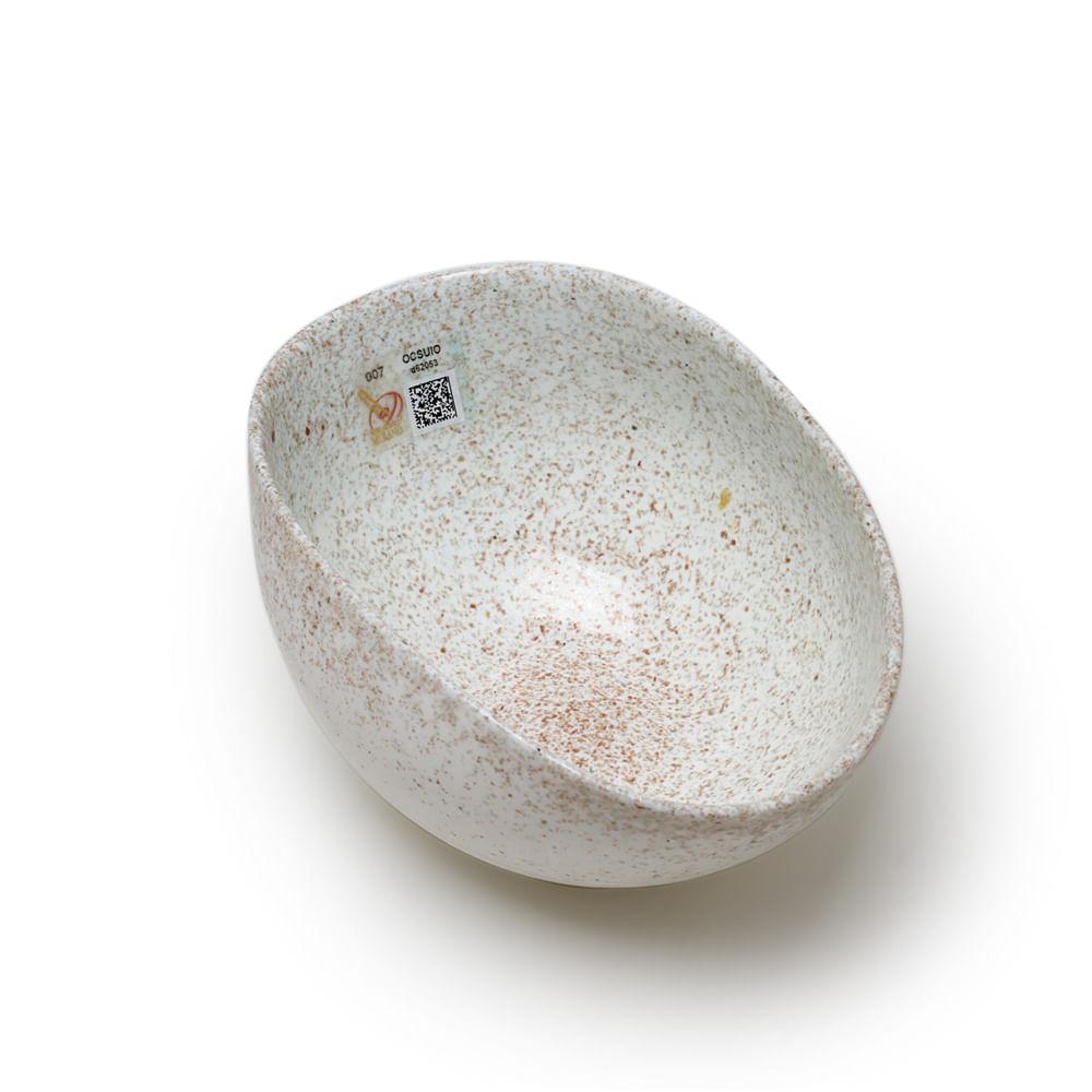 Bowl de Murano Marfim com Avventurina Yalos
